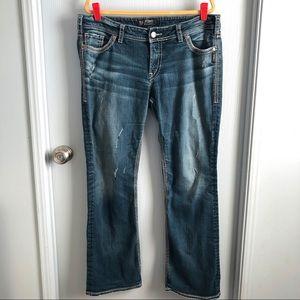 """Silver Suki Distressed Jeans W36"""" / L33"""""""